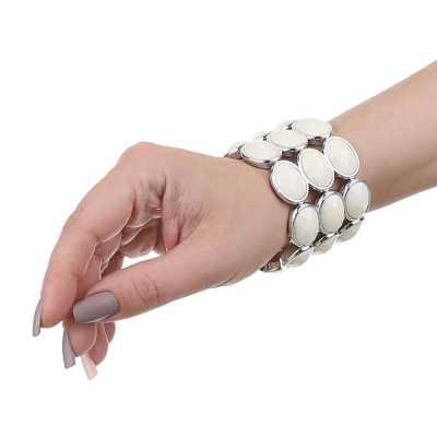 Armband für Damen in Creme