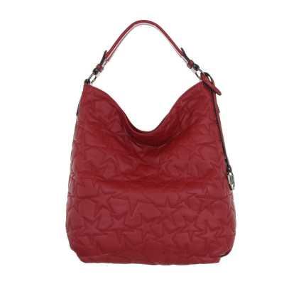 Beuteltasche für Damen in Rot