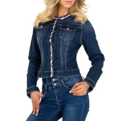 Jeansjacken für Damen in Blau und Dunkelblau
