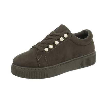 Sneakers low für Damen in Grün