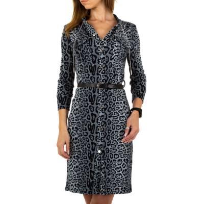Blusenkleid für Damen in Grau