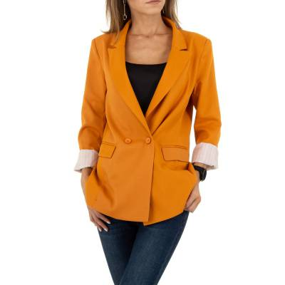 Blazer für Damen in Orange
