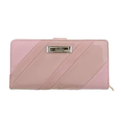 Portemonnaie Damen Geldbörse Altrosa