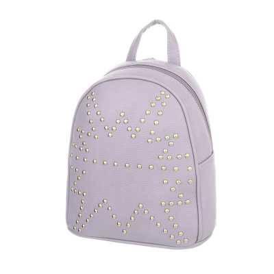 Kleine Damen Tasche Hellgrau