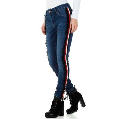Skinny Jeans für Damen in Blau