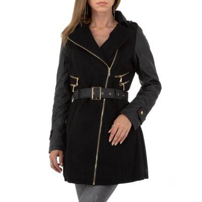Trenchcoat für Damen in Schwarz