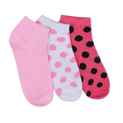 12 Paar Damen Socken Weiß Multi