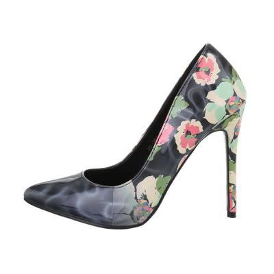 High Heel Pumps für Damen in Schwarz und Blau