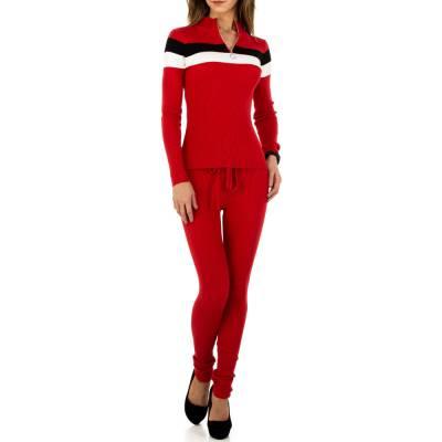 Zweiteiler für Damen in Rot