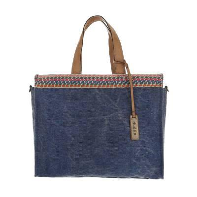 Große Damen Tasche Blau