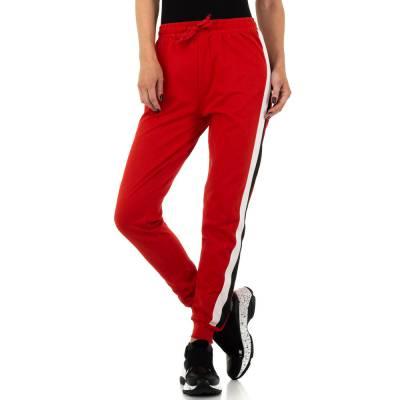 Jogginghose für Damen in Rot