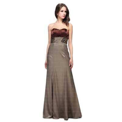 Abendkleid für Damen in Braun