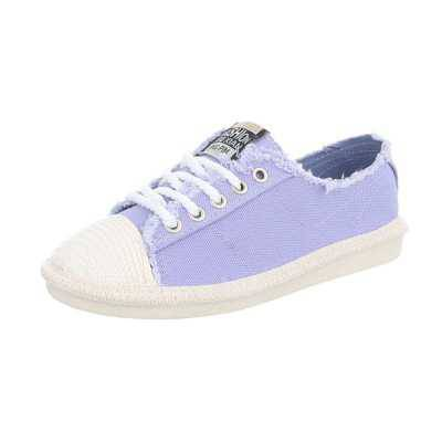 Sneakers low für Damen in Lila