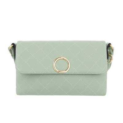 Kleine Damen Tasche Hellgrün