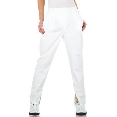 Chinos für Damen in Weiß