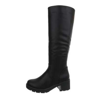 Klassische Stiefel für Damen in Schwarz