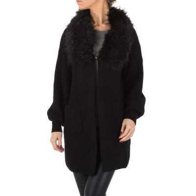 Mantel für Damen in Schwarz