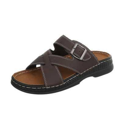 Sandalen für Herren in Braun