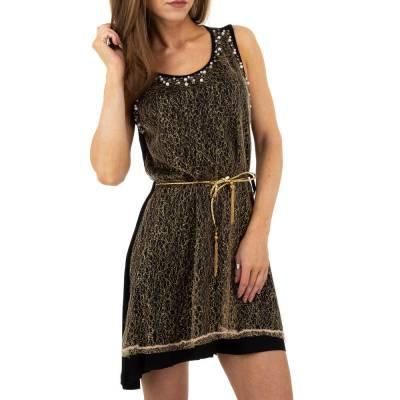 Minikleid für Damen in Gold
