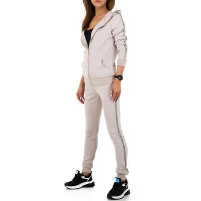 Jogging- & Freizeitanzug für Damen in Beige