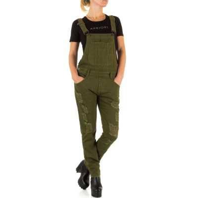 Latzhose für Damen in Grün