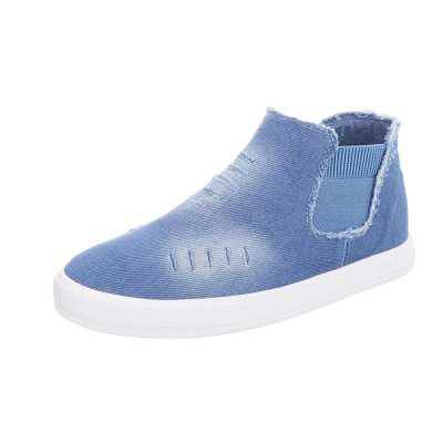 Sneakers high für Damen in Blau