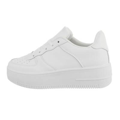 Sneakers low für Damen in Weiß