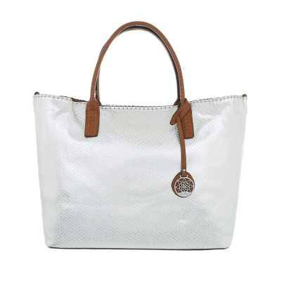 übergroße Damen Tasche Weiß