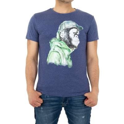T-Shirt für Herren in Lila