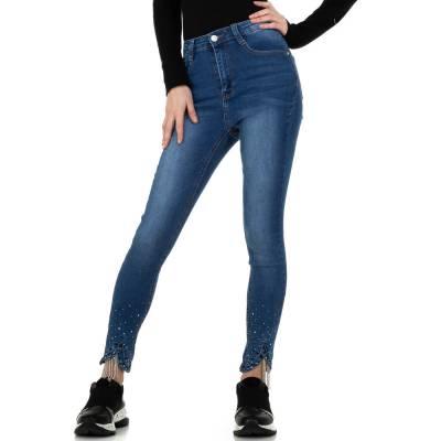 High Waist Jeans für Damen in Blau