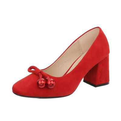 High Heel Pumps für Damen in Rot