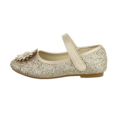 Ballerinas für Kinder in Gold