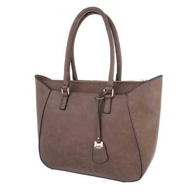 Mittelgroße Damen Tasche Hellbraun