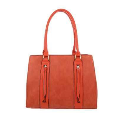 Mittelgroße Damen Tasche Orange