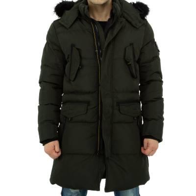 Mantel für Herren in Braun
