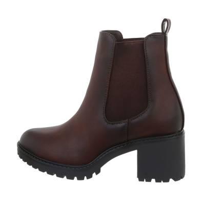Chelsea Boots für Damen in Braun