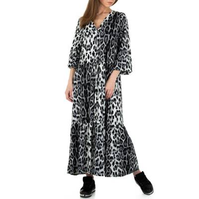 Maxikleid für Damen in Grau