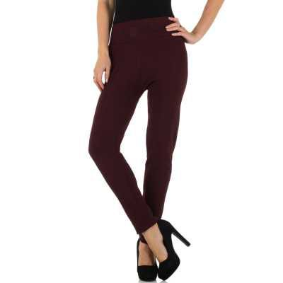 Thermo-Leggings für Damen in Rot