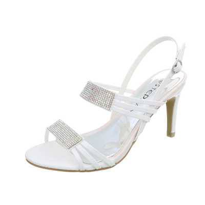 High Heel Sandaletten für Damen in Weiß