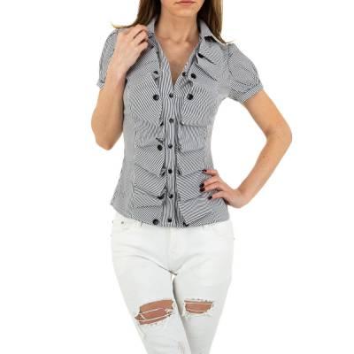 Hemdbluse für Damen in Mehrfarbig