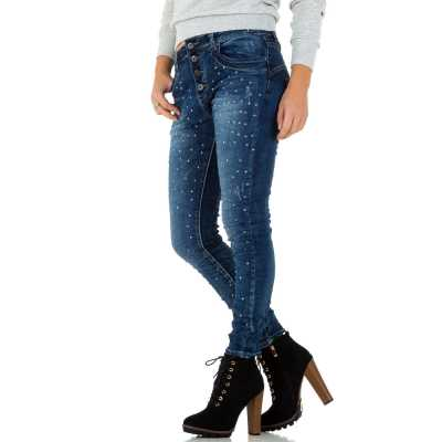 Boyfriend Jeans für Damen in Blau