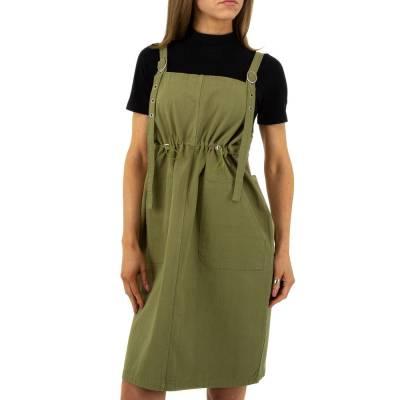 Jeanskleid für Damen in Grün
