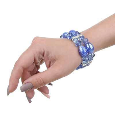 Armband für Damen in Blau