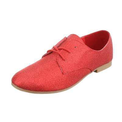 Schnürer für Damen in Rot
