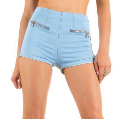 Hotpants für Damen in Blau