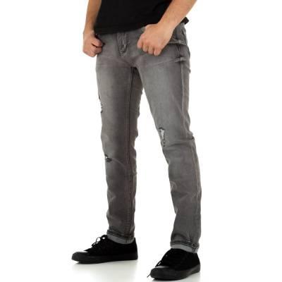 Jeans für Herren in Grau