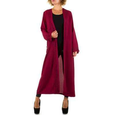 Cardigan für Damen in Rot