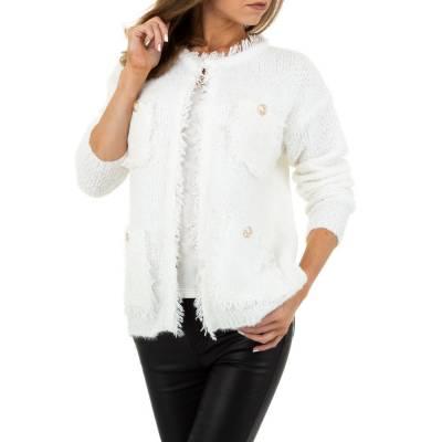 Cardigan für Damen in Weiß