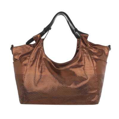 Große Damen Tasche Bronze