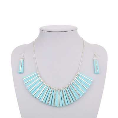 Halskette für Damen in Blau